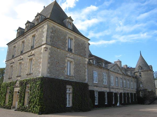 Le Chateau actuellement - façade Ouest