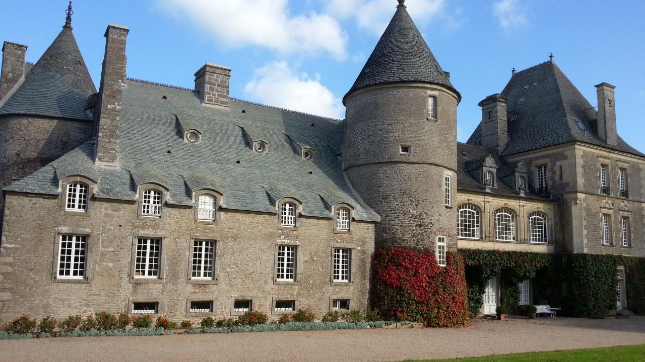 Le Chateau actuellement - façade Est