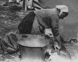 Le lavoir autrefois