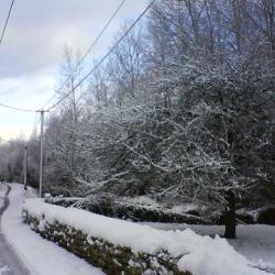 Neige 2013, rue de la couplière                  Photo  S. lebeury
