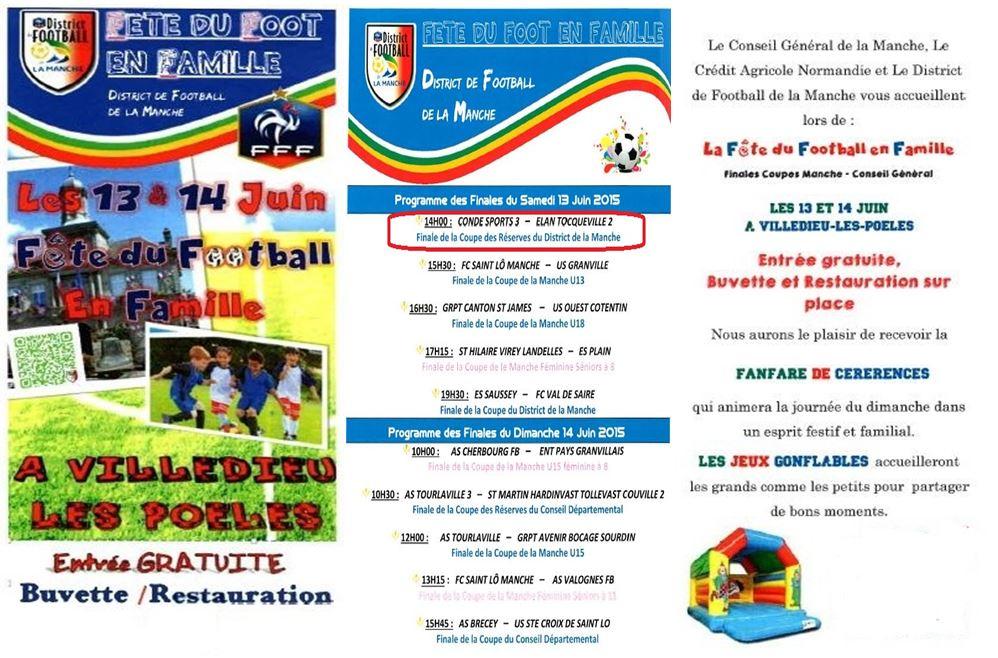 Programme finale foot 4
