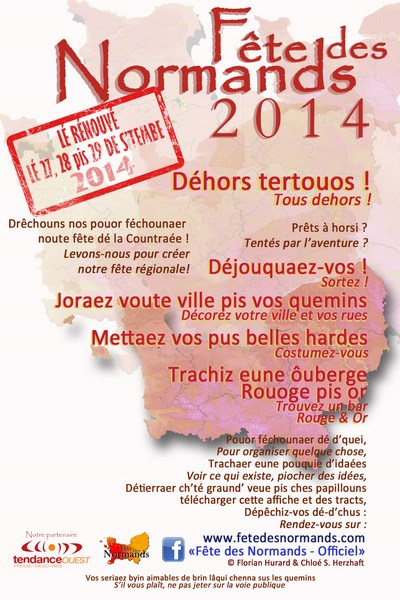 Tract fete des normands 2013 lever de normandies normand francais1 copier